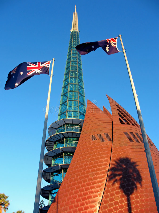 Download Bell Tower, Perth stock image. Image of landmarks, tall - 7627521