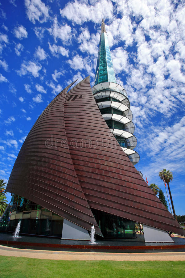 The Bell Tower,Perth,Western Australia royalty free stock photography