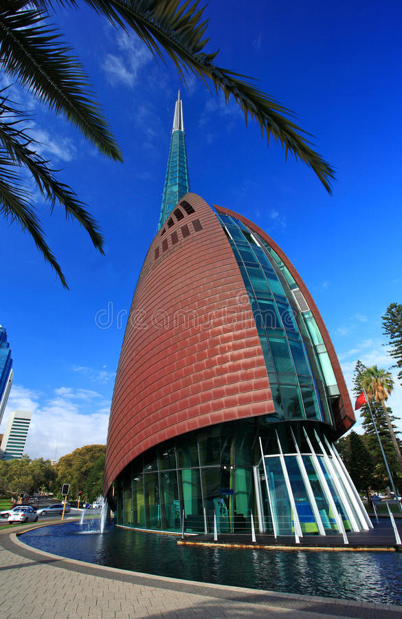The Bell Tower, Perth, Western Australia stock images
