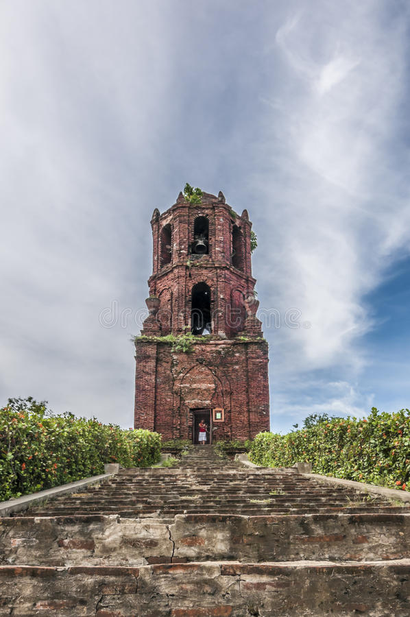 Bell Tower phillippines royalty free stock photos
