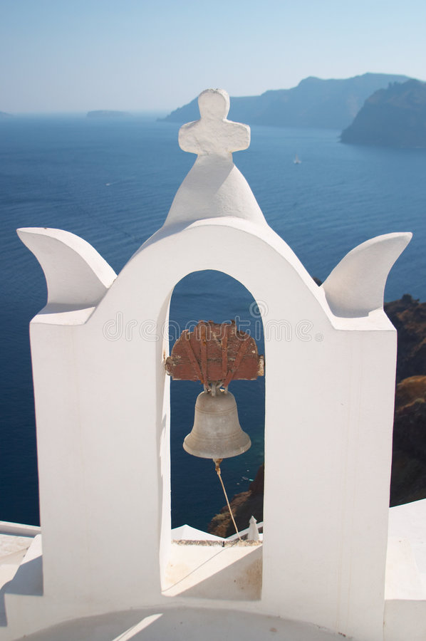 Free Bell Tower, Santorini, Greece Royalty Free Stock Photography - 574717