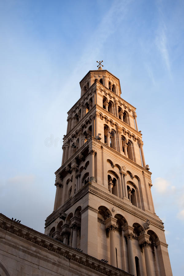 Bell Tower In Split Royalty Free Stock Photos