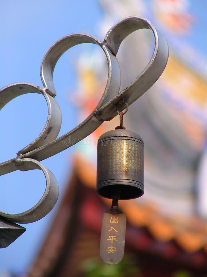 Bell u. Tempel lizenzfreie stockfotos