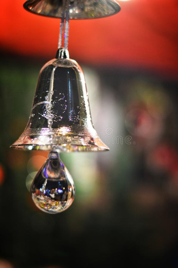bell used for decorations during festival royalty free stock photography