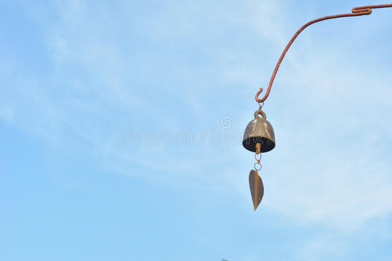 Bell von Buddha lizenzfreie stockfotos