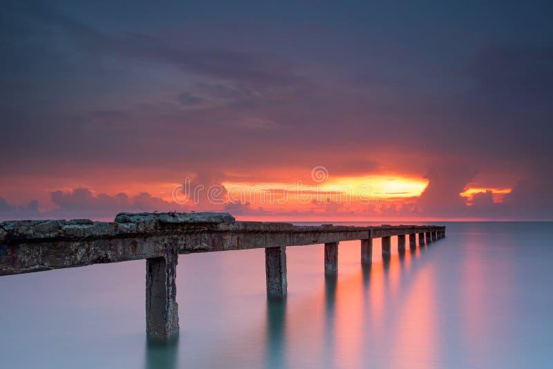 Bella alba fotografie stock libere da diritti