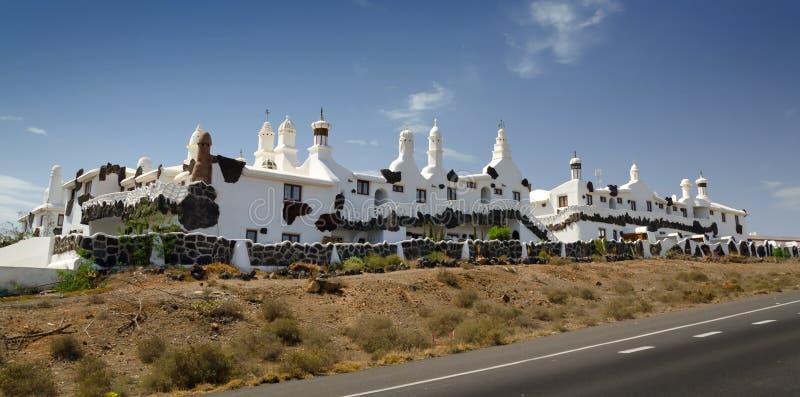 Bella architettura di Lanzarote fotografia stock