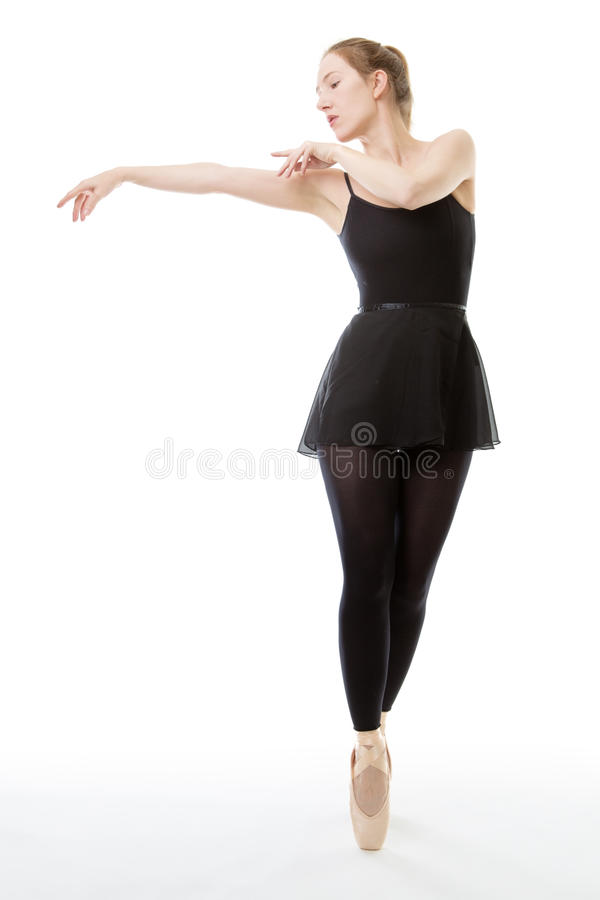 Bella ballerina fotografia stock