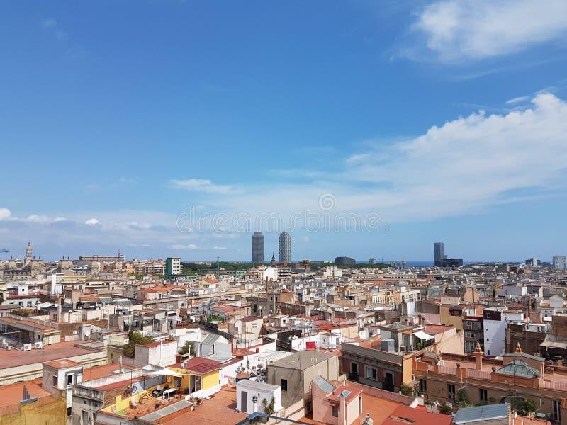 Bella Barcellona immagine stock libera da diritti