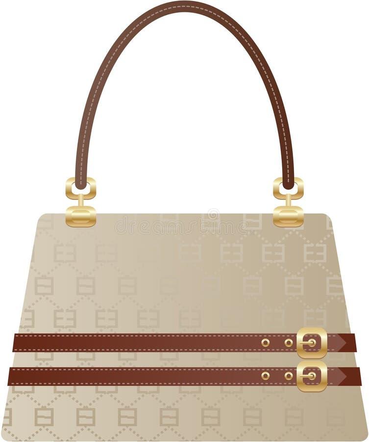 Bella borsa della borsa illustrazione di stock