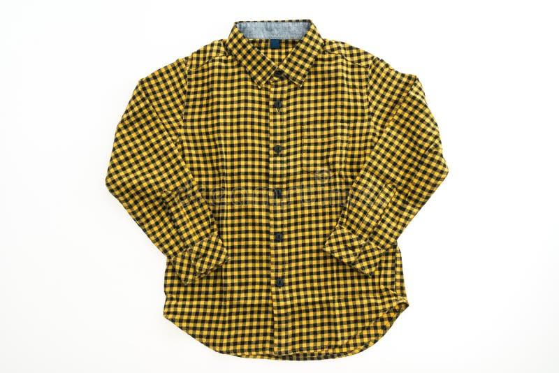 Bella camicia di modo degli uomini fotografie stock