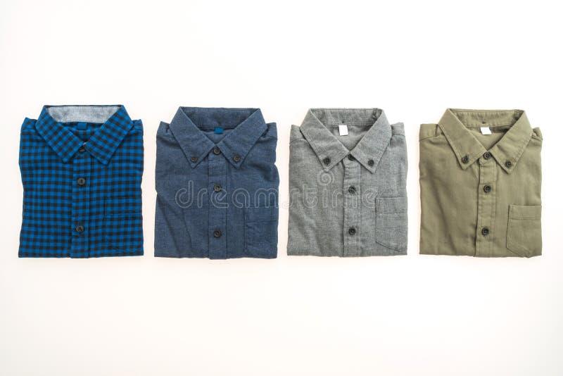 Bella camicia di modo degli uomini fotografia stock