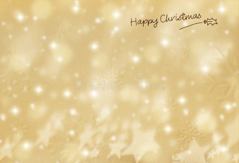 Bella cartolina di Natale immagine stock
