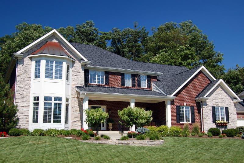 Bella casa immagine stock