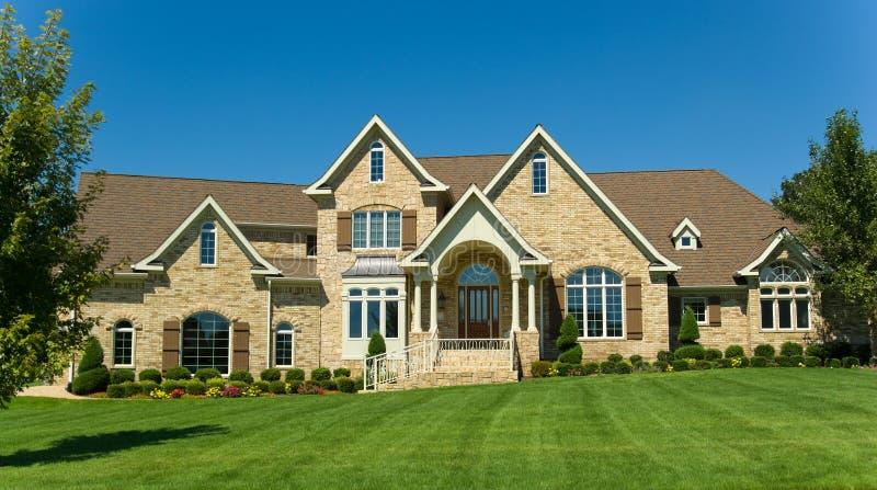 Bella casa immagine stock libera da diritti