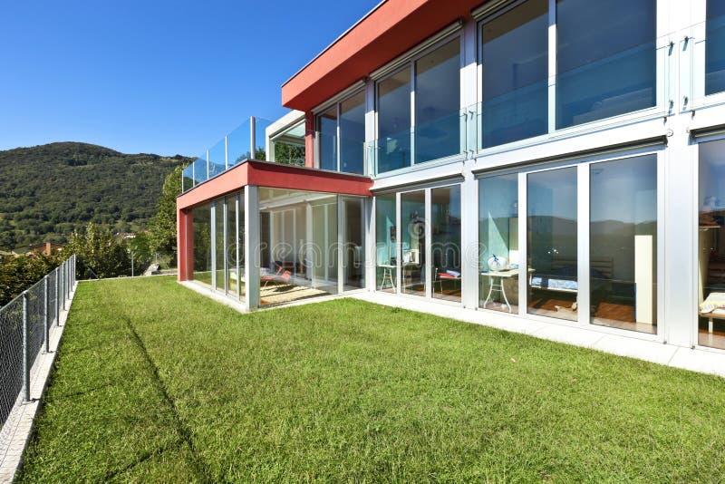 Bella casa, all'esterno immagine stock