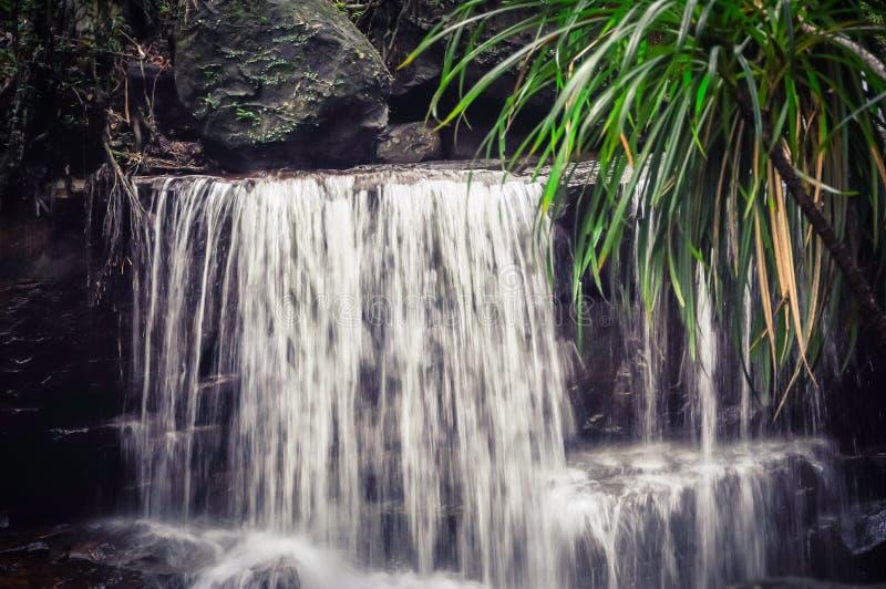 Bella cascata di Suoi Tranh in Phu Quoc, Vietnam fotografie stock libere da diritti