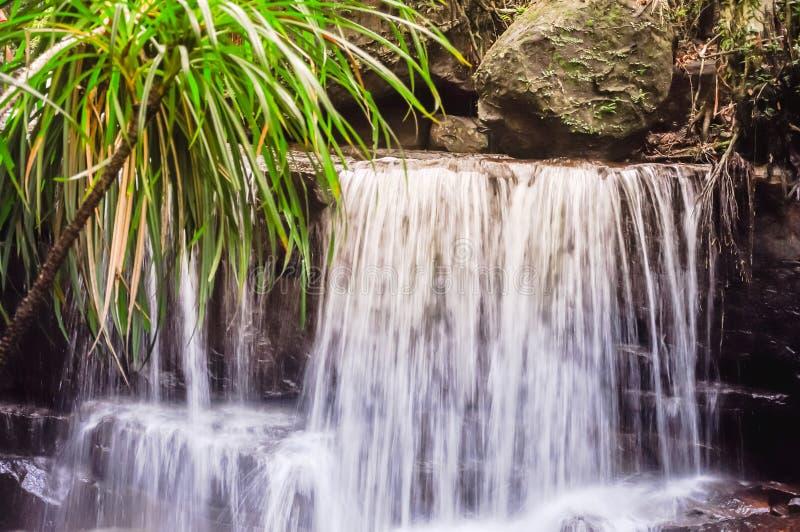 Bella cascata di Suoi Tranh in Phu Quoc, Vietnam fotografie stock