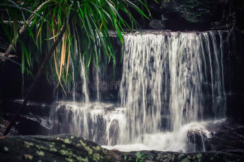 Bella cascata di Suoi Tranh in Phu Quoc, Vietnam immagini stock libere da diritti