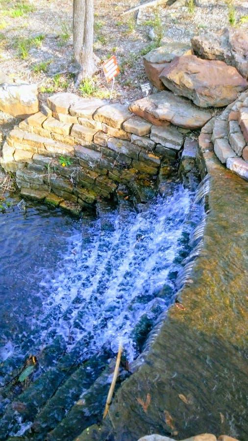 Bella cascata serena immagine stock