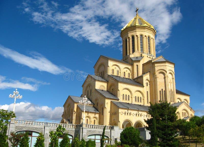 Bella cattedrale enorme fotografia stock