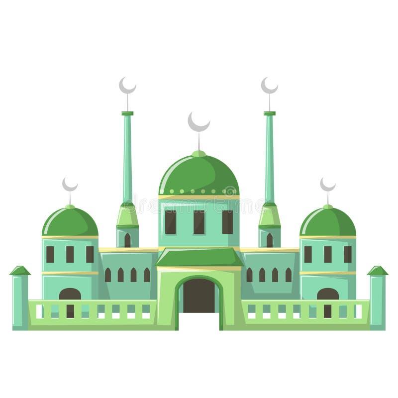 Bella costruzione v3 04 della moschea royalty illustrazione gratis