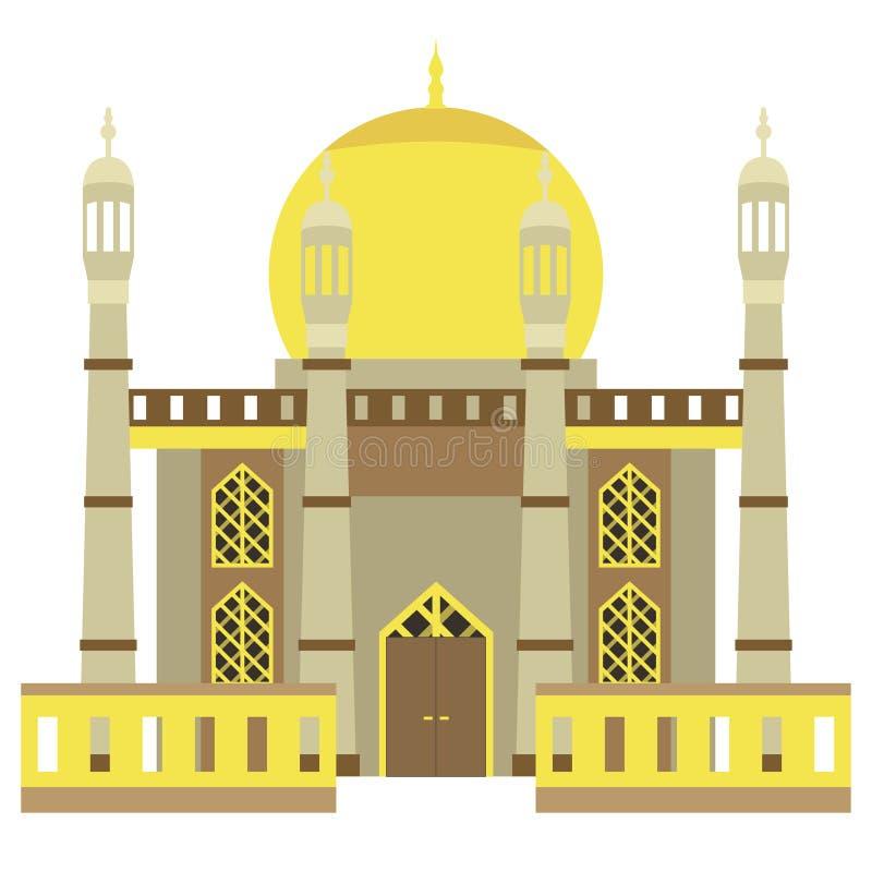 Bella costruzione v4 01 della moschea royalty illustrazione gratis