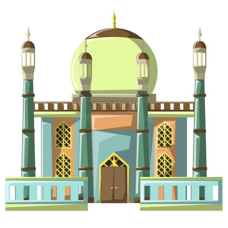 Bella costruzione v4 04 della moschea royalty illustrazione gratis