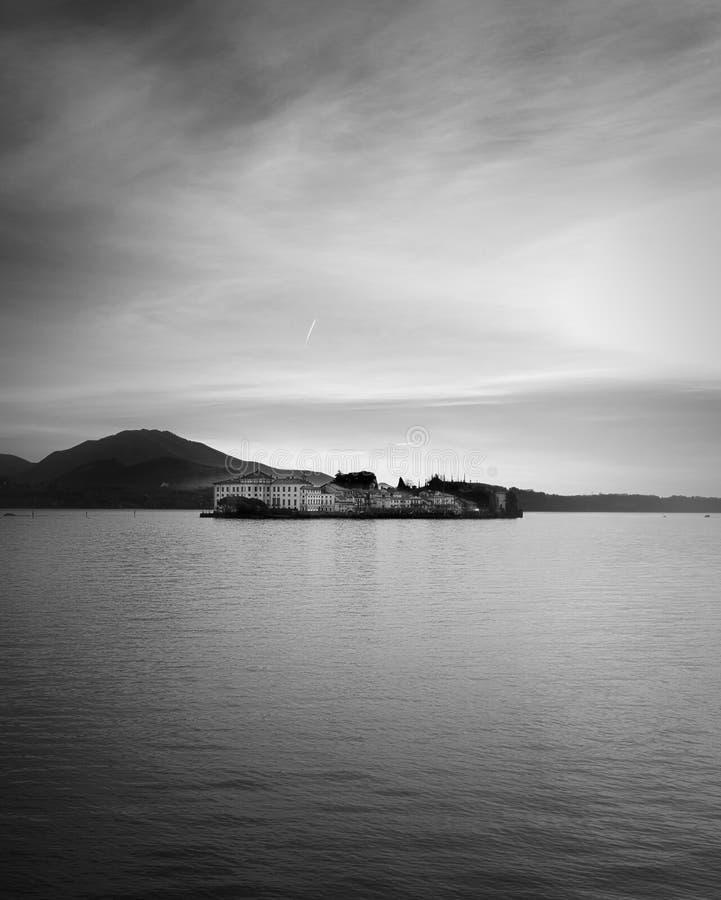 Bella d'Isola - Lago Maggiore - Italie image stock