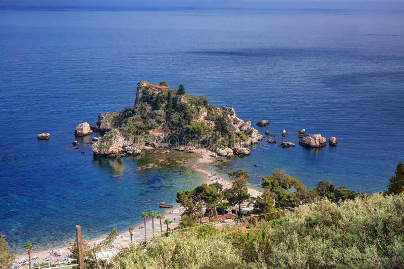 Bella de Isola no taormina, Sicília imagem de stock royalty free