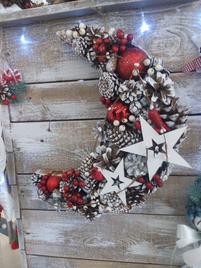 Bella decorazione interna per il nuovo anno immagini stock