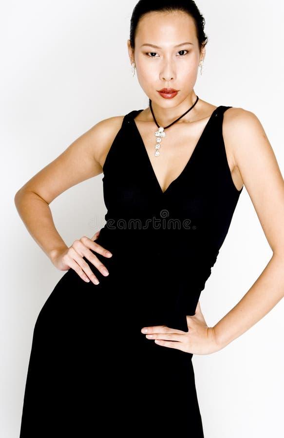Bella donna asiatica immagini stock libere da diritti