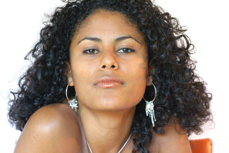 Download Bella donna brasiliana fotografia stock. Immagine di cute - 203622
