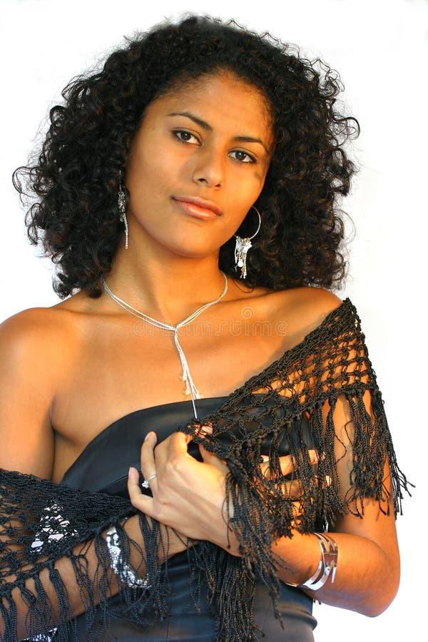 Download Bella donna brasiliana immagine stock. Immagine di isolato - 205429