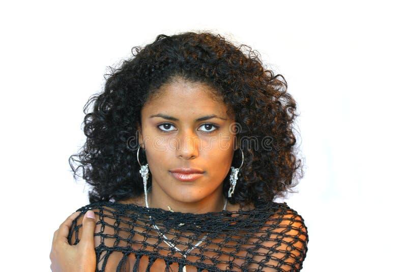 Download Bella donna brasiliana fotografia stock. Immagine di ritratto - 205440