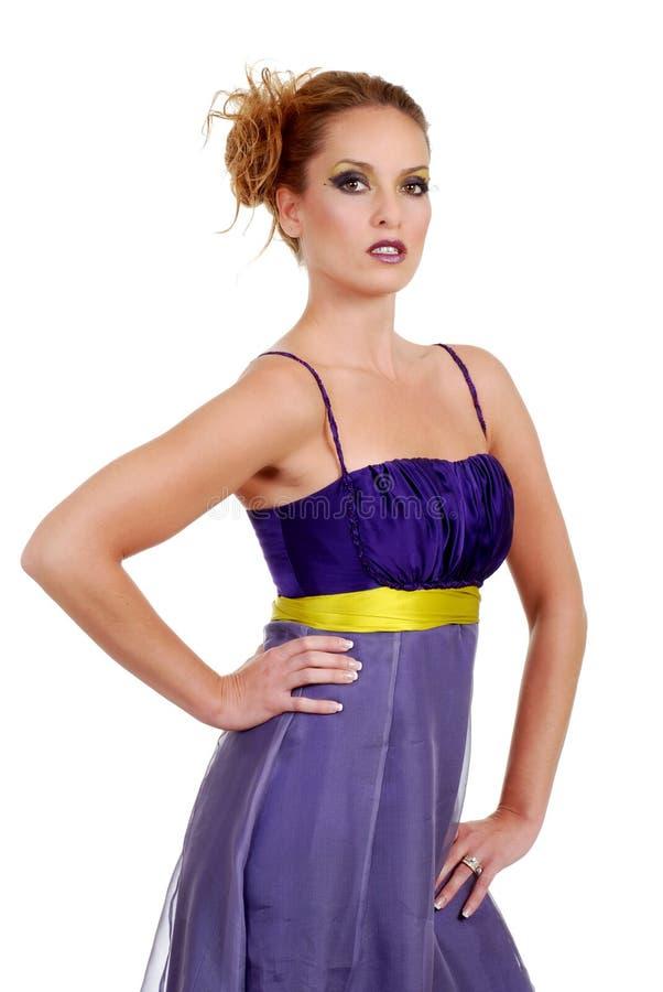 Un vestito viola