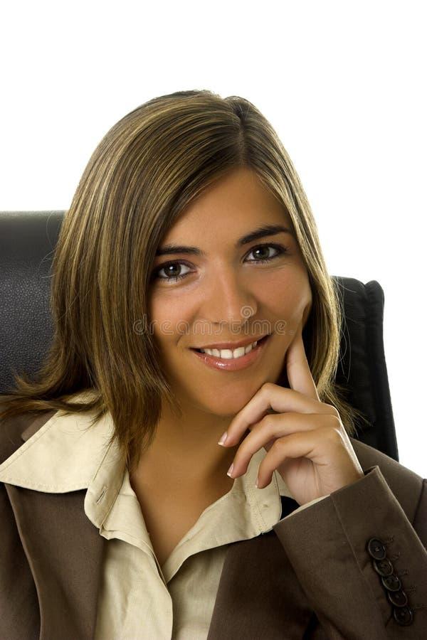 Bella donna di affari immagini stock