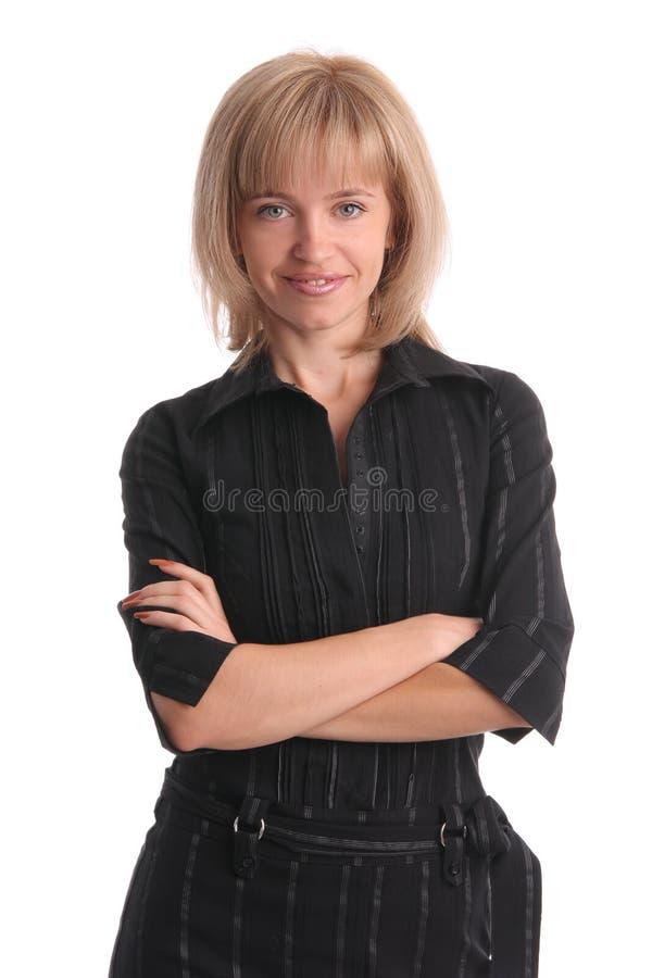Download Bella donna di affari fotografia stock. Immagine di people - 7301152
