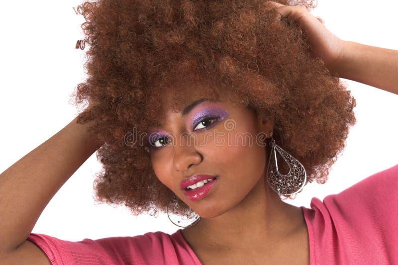Bella donna di colore immagini stock libere da diritti