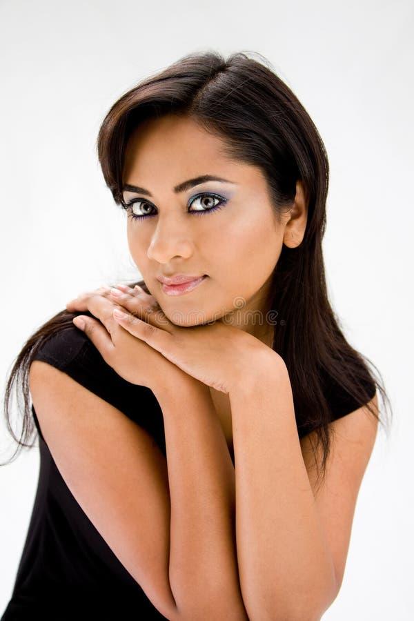 Bella donna di Hindi fotografie stock