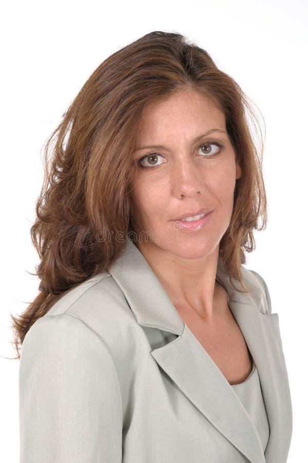 Bella donna esecutiva 1 di affari immagini stock libere da diritti