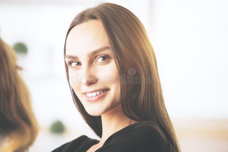 Bella donna europea immagine stock libera da diritti