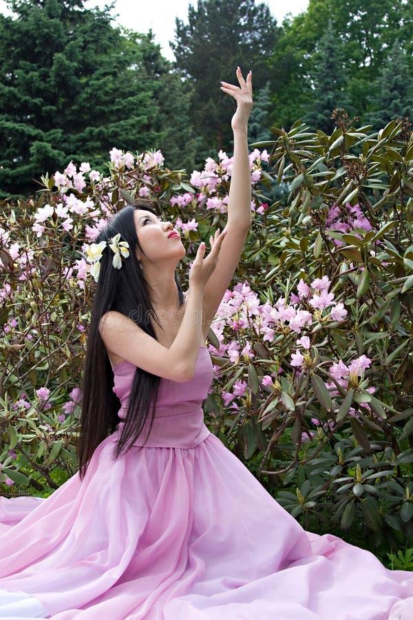 Bella donna giapponese fotografia stock libera da diritti