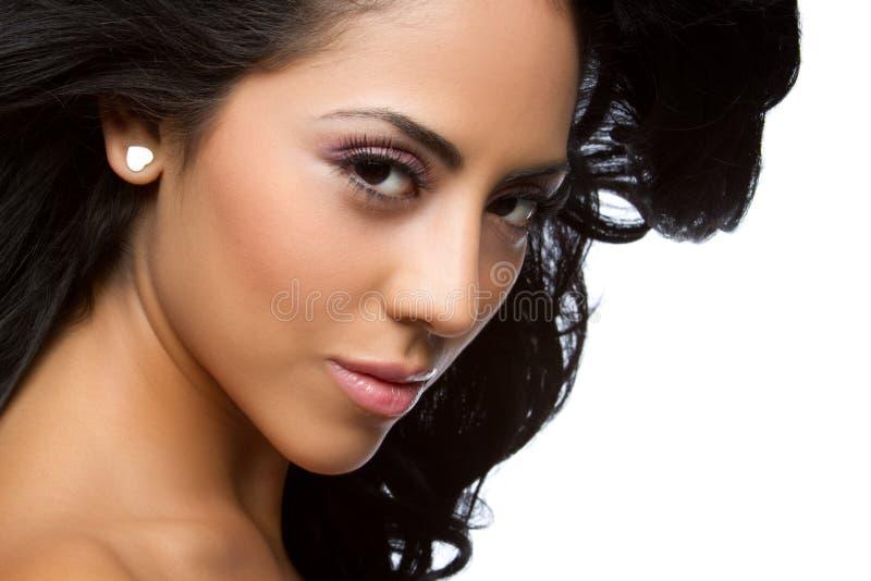 Bella donna latina fotografie stock