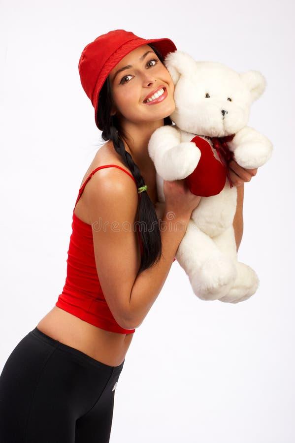 Bella donna sorridente fotografie stock libere da diritti
