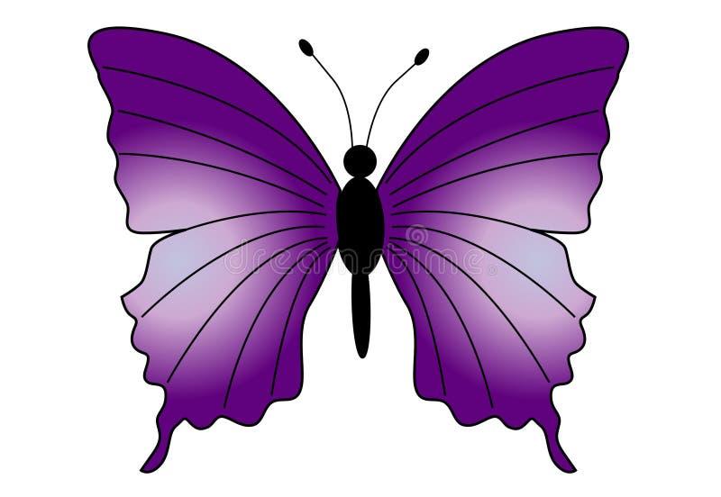 Bella farfalla illustrazione vettoriale