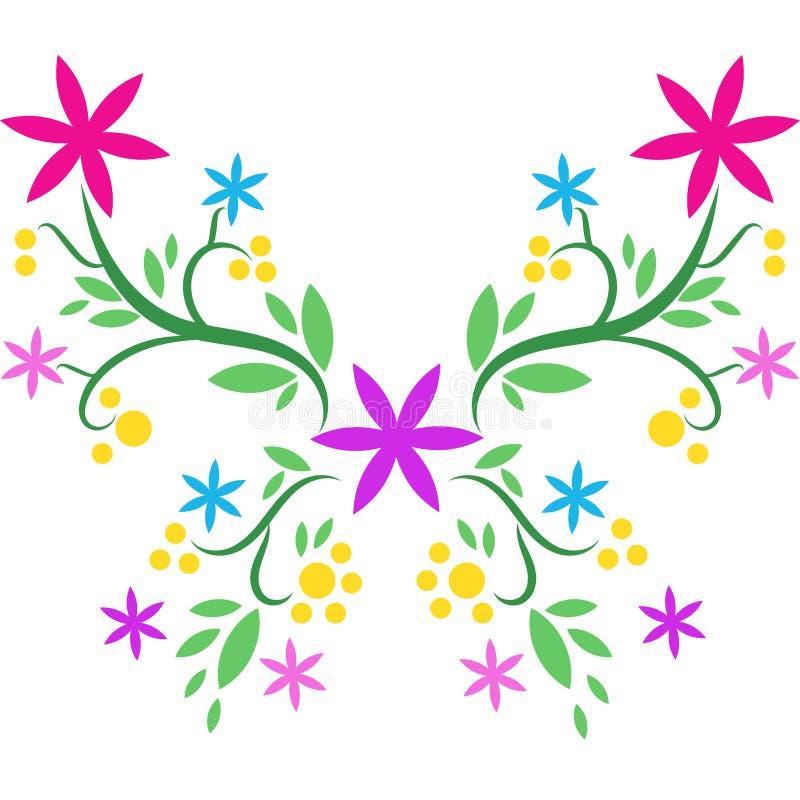 bella farfalla disegnata a mano illustrazione vettoriale