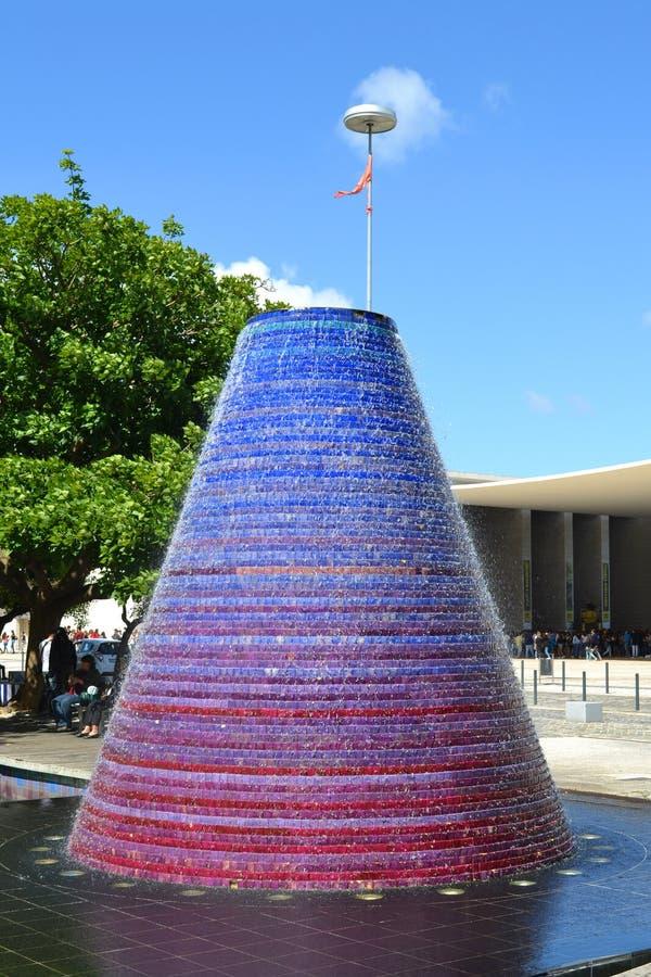 Bella fontana EXPO98 fotografia stock libera da diritti