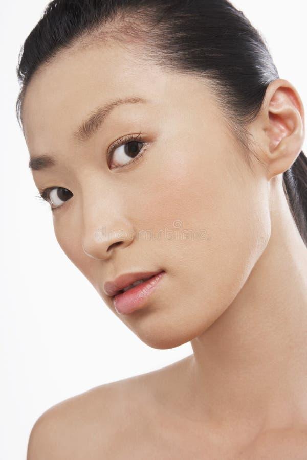 Bella giovane donna asiatica fotografie stock
