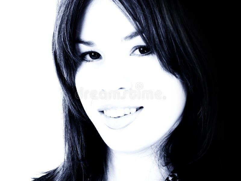 Bella giovane donna del primo piano immagini stock libere da diritti